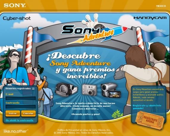 Sony Adventure